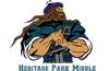 Ecole Heritage Park Middle School -  French Immersion Program of Choice logo